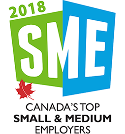Canada's Top Small & Medium Employers Certification